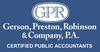 Gerson, Preston, Robinson & Company, P.A.