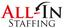 All in Staffing Logo